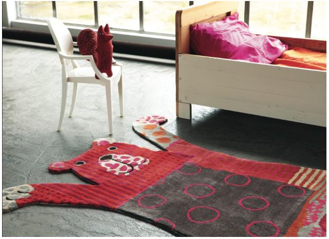 Ručne všívaný koberec - Brink and Campman - Kids bear