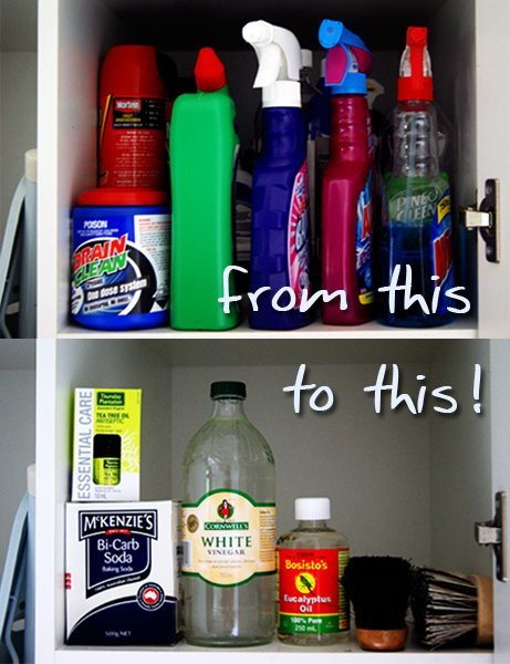 prechod od chemických čistiacich prostriedkov k prírodným produktom