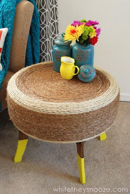 taburetka jako stolek