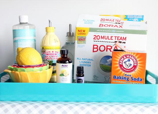 bezpečné a zdravé čistiace prostriedky z domácnosti