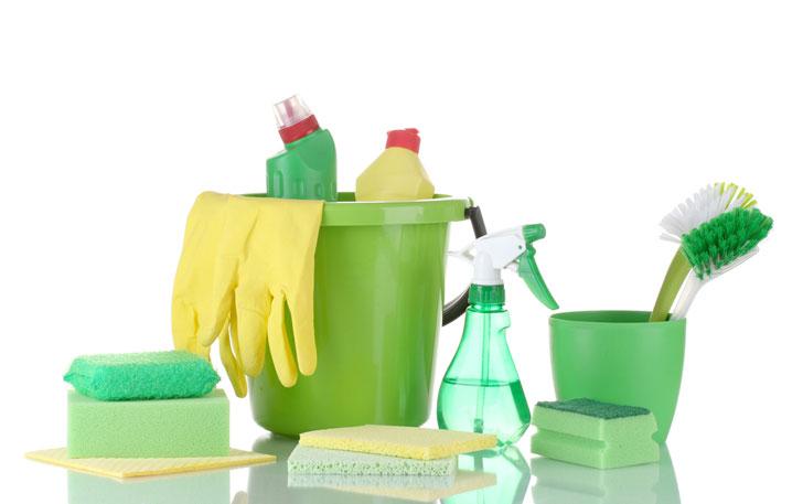 """""""zelené"""" čistiace prostriedky"""