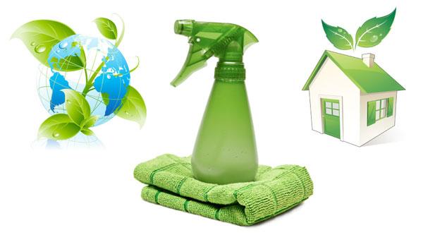 ekologická, čistá domácnosť bez používania chemických čistiacich prostriedkov