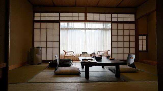 Minimalismus a přírodní materiály: objevte osobitý japonský styl!  Blog ...