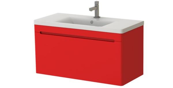 Kúpeľňová skrinka na stenu s umývadlom - Juventa - Tivoli