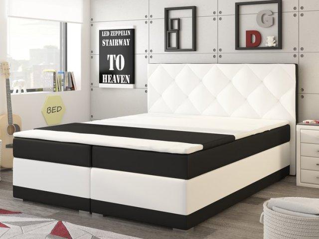 Manželská posteľ Boxspring 180 cm - Renar - Modena