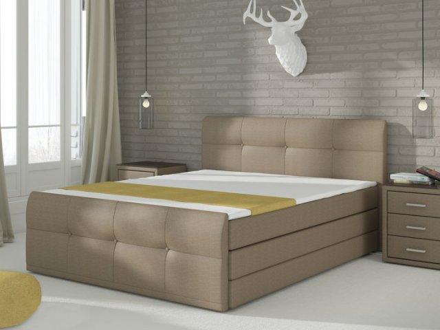Manželská posteľ Boxspring 180 cm - Renar - Palermo