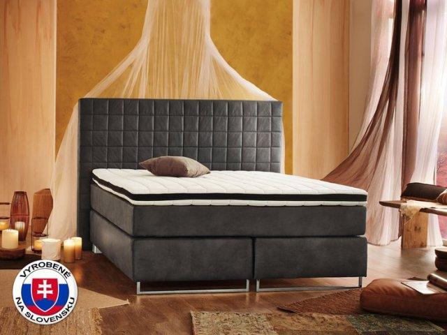 Manželská posteľ Boxspring 180 cm - Styler - Lux