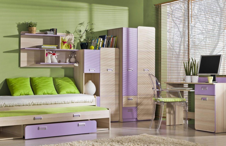 Moderné dievčenské izby