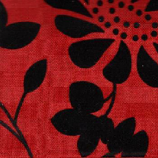 Matrac: Falcone Red Flower