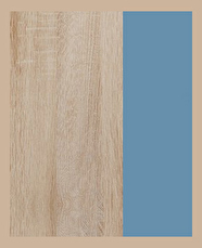 b35a195a47f5 Detská izba Kitty 2 Sonoma svetlá + modrá