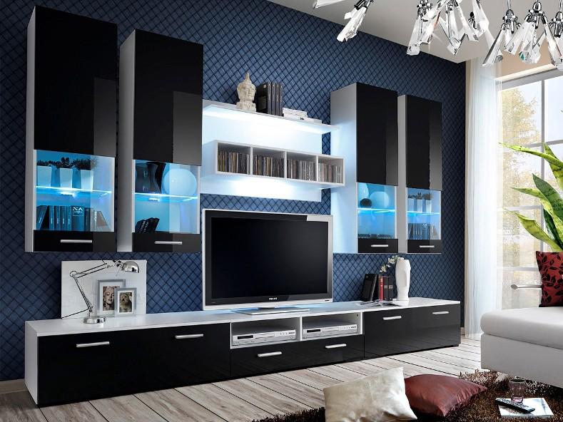 Obývacia stena - ASM - Dorade - 20 WS DO (s osvetlením). Doprava ZDARMA. Sme autorizovaný predajca ASM. Vlastná spoľahlivá doprava až k Vám domov.