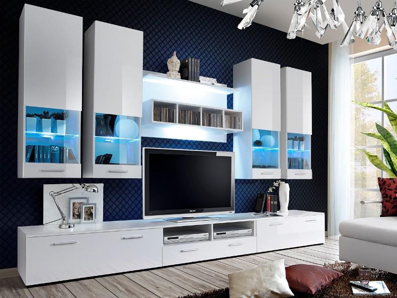 Obývacia stena - ASM - Dorade - 20 WW DO (s osvetlením). Doprava ZDARMA. Sme autorizovaný predajca ASM. Vlastná spoľahlivá doprava až k Vám domov.
