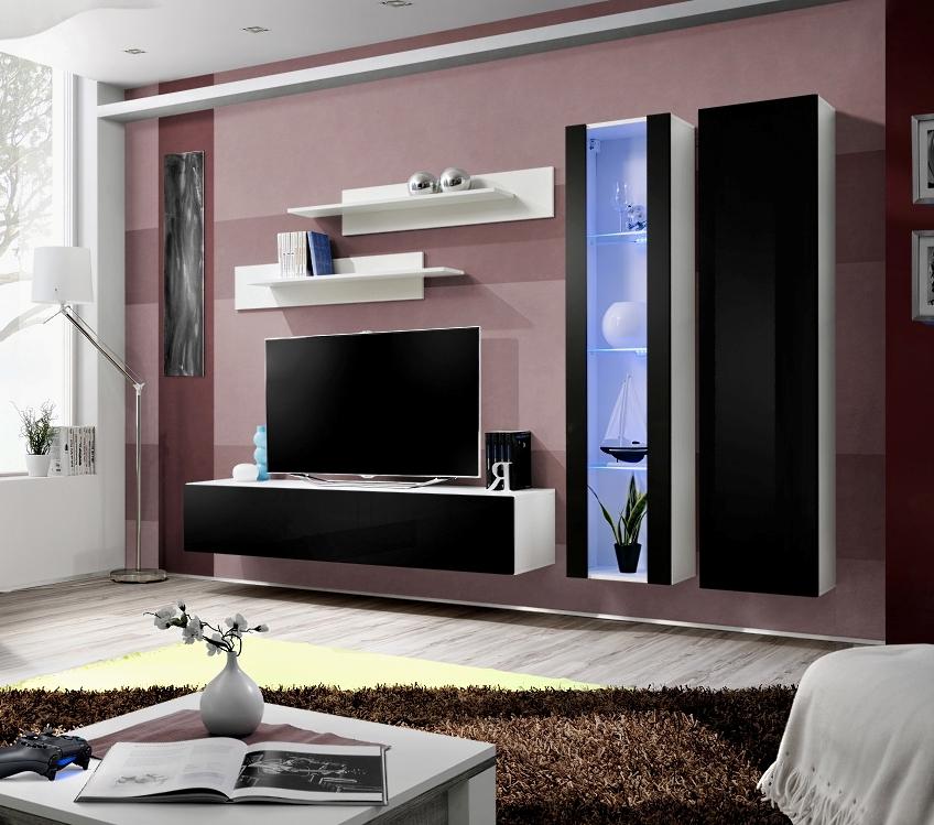 Obývacia stena - ASM - Fly - A4 WS (s osvetlením)