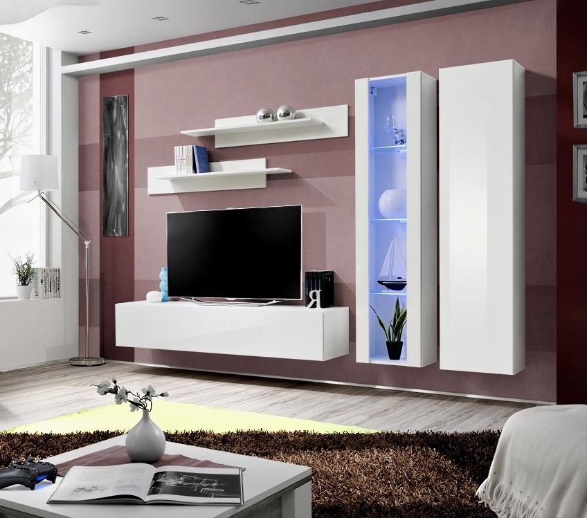 Obývacia stena - ASM - Fly - A4 WW (s osvetlením)