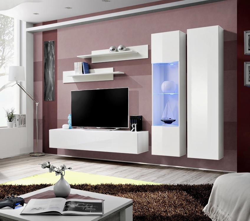 Obývacia stena - ASM - Fly - A5 WW (s osvetlením)