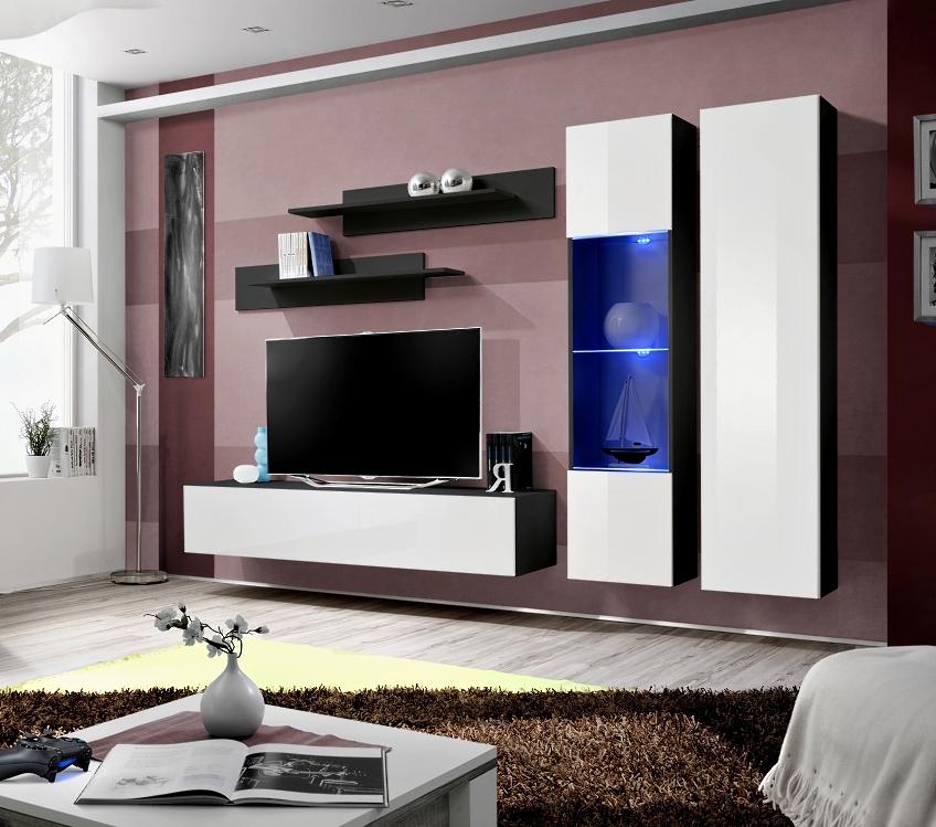 Obývacia stena - ASM - Fly - A5 ZW (s osvetlením)