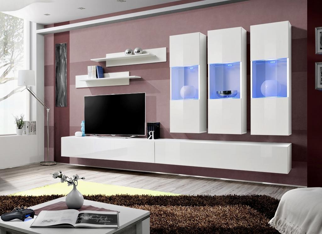 Obývacia stena - ASM - Fly - E2 WW (s osvetlením)