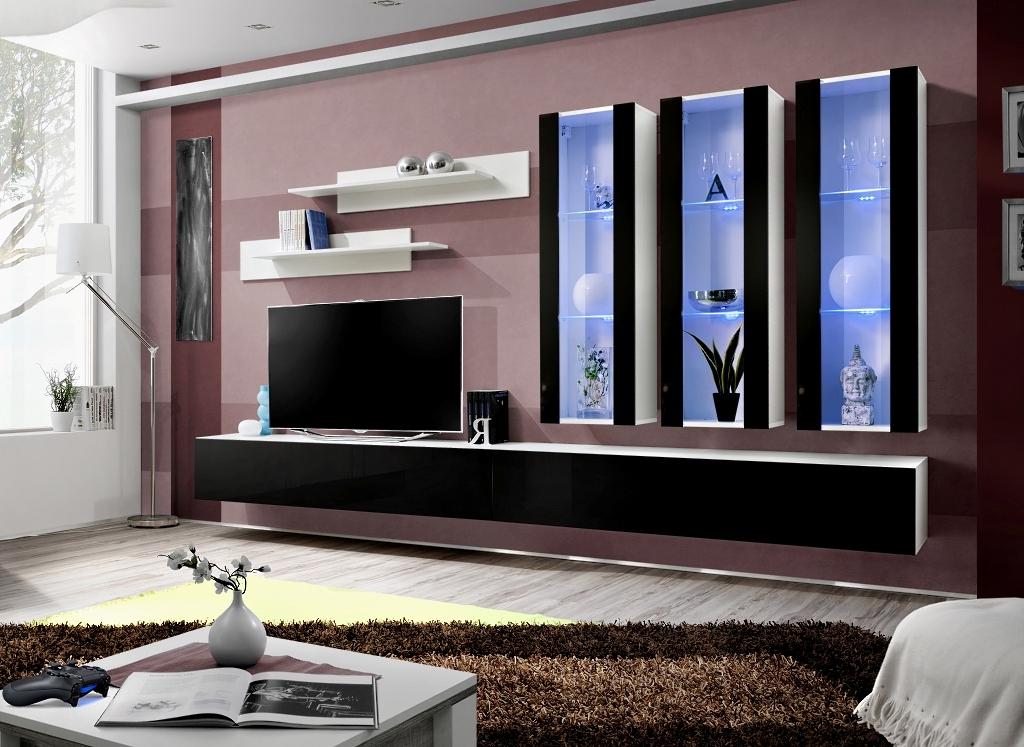 Obývacia stena - ASM - Fly - E3 WS (s osvetlením)