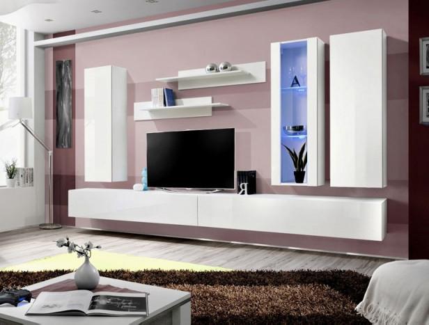 Obývacia stena - ASM - Fly - E4 WW (s osvetlením)