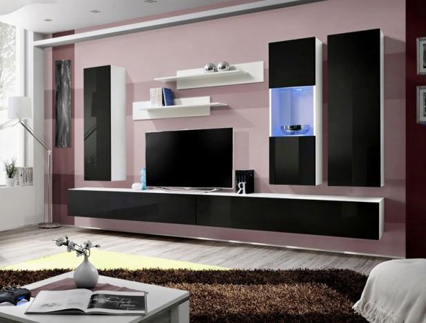 Obývacia stena - ASM - Fly - E5 WS (s osvetlením)