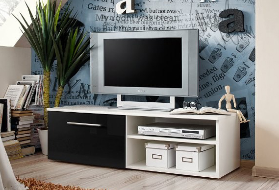 TV stolík/skrinka - ASM - Bono I - WSH
