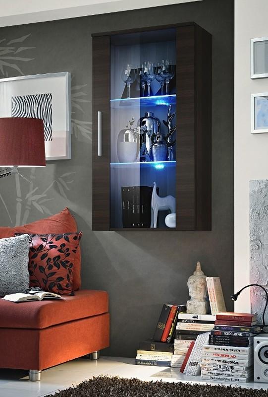 Vitrína na stenu - ASM - Neo II - EM (s osvetlením)