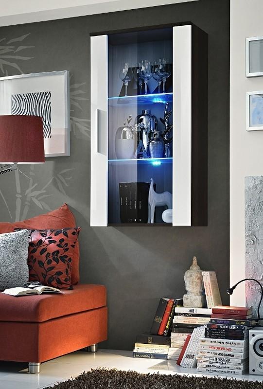 Vitrína na stenu Neo 23 EMWH N2 (s osvetlením)