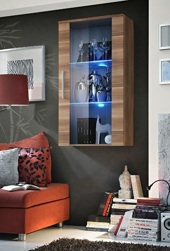 Vitrína na stenu - ASM - Neo II - NU (s osvetlením)