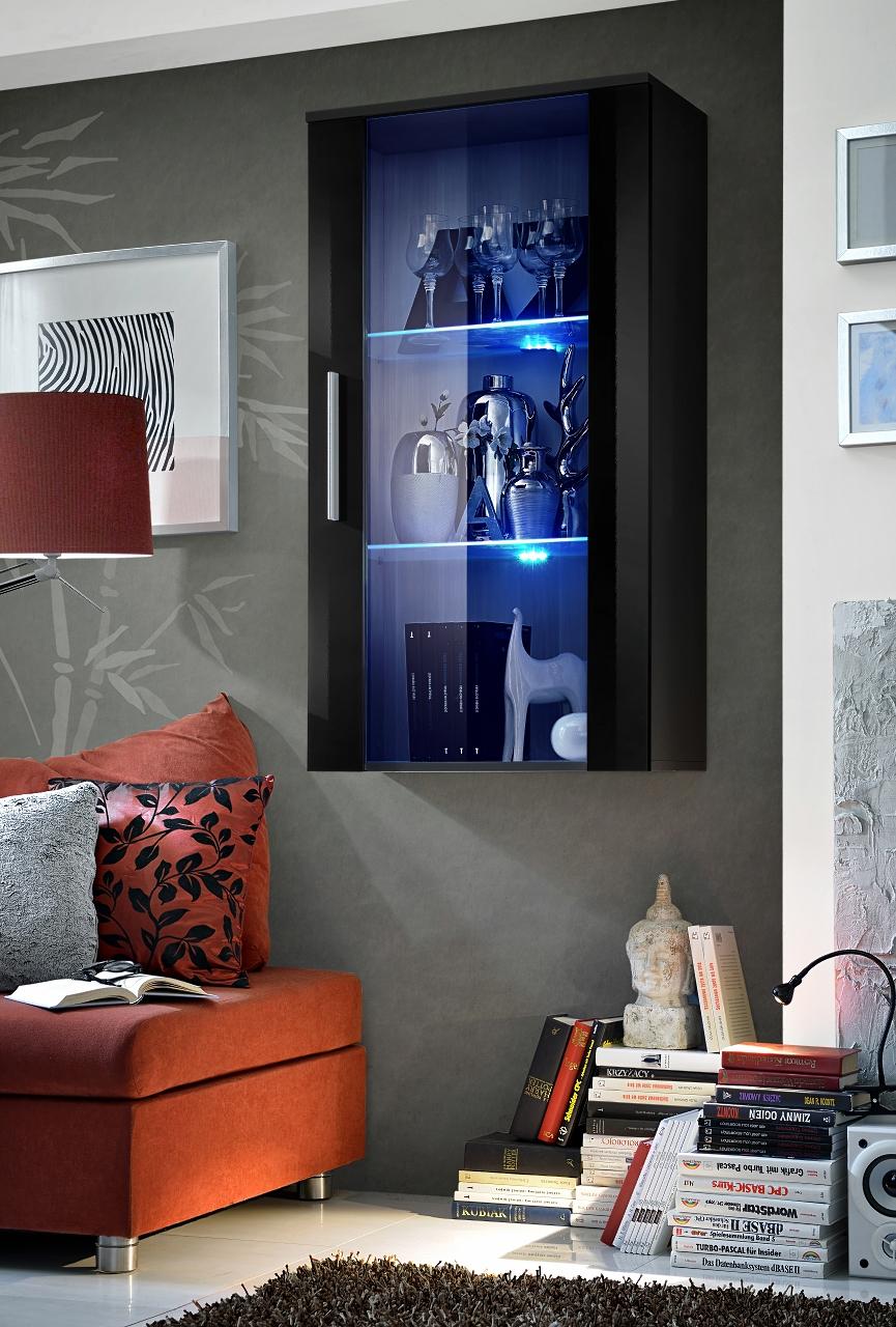 Vitrína na stenu - ASM - Neo II - ZZ (s osvetlením)