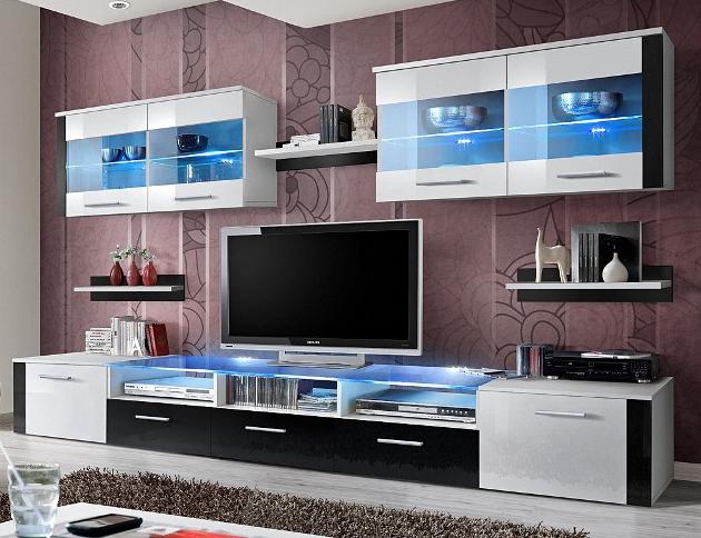 Obývacia stena - ASM - Zoom - 21 WS ZO (s osvetlením). Sme autorizovaný predajca ASM. Vlastná spoľahlivá doprava až k Vám domov.