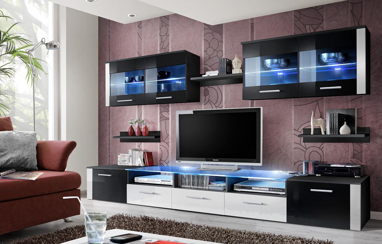 Obývacia stena - ASM - Zoom - 23 ZW ZO (s osvetlením). Sme autorizovaný predajca ASM. Vlastná spoľahlivá doprava až k Vám domov.