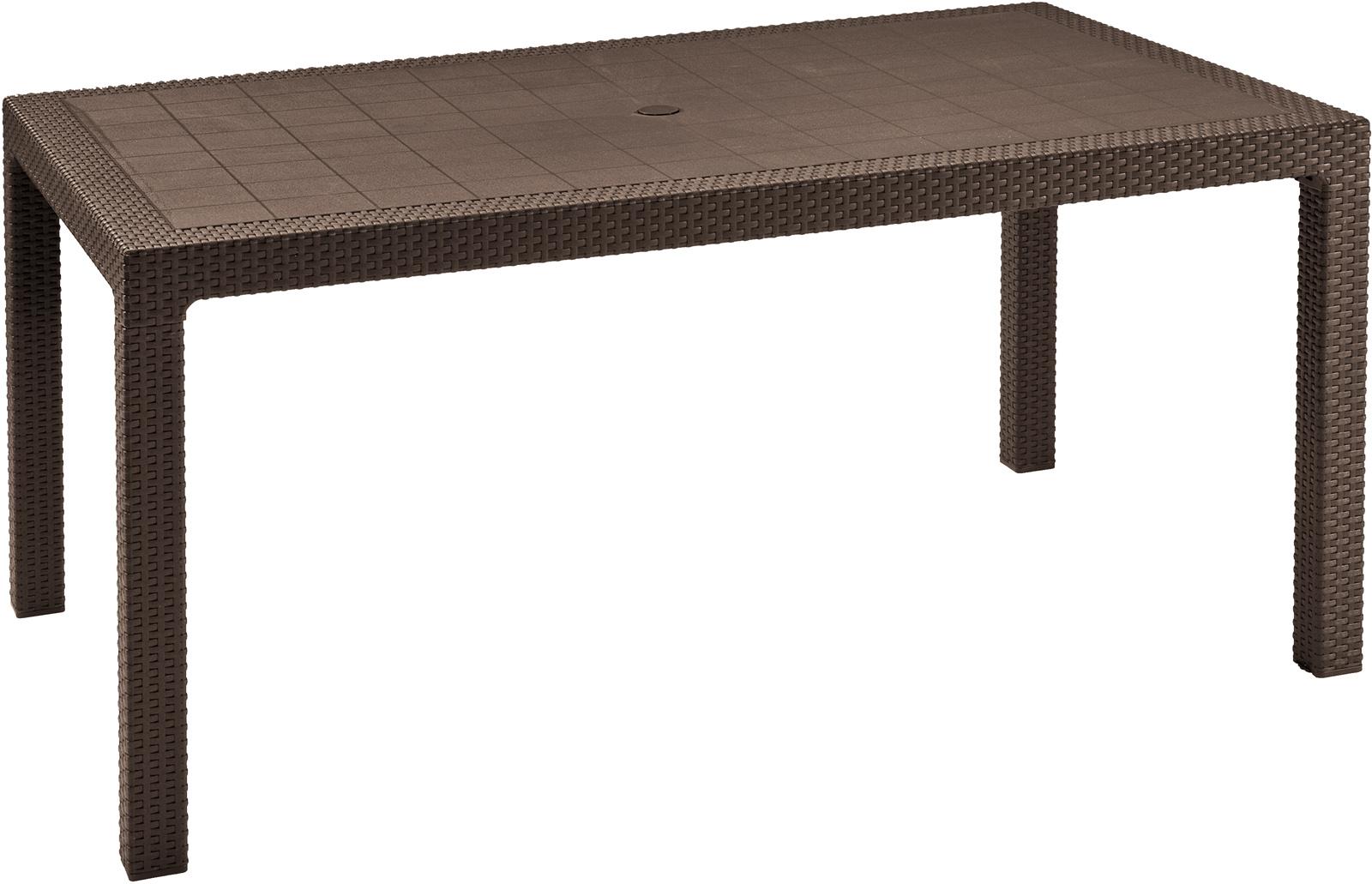 Záhradný stôl - Allibert - Melody brown