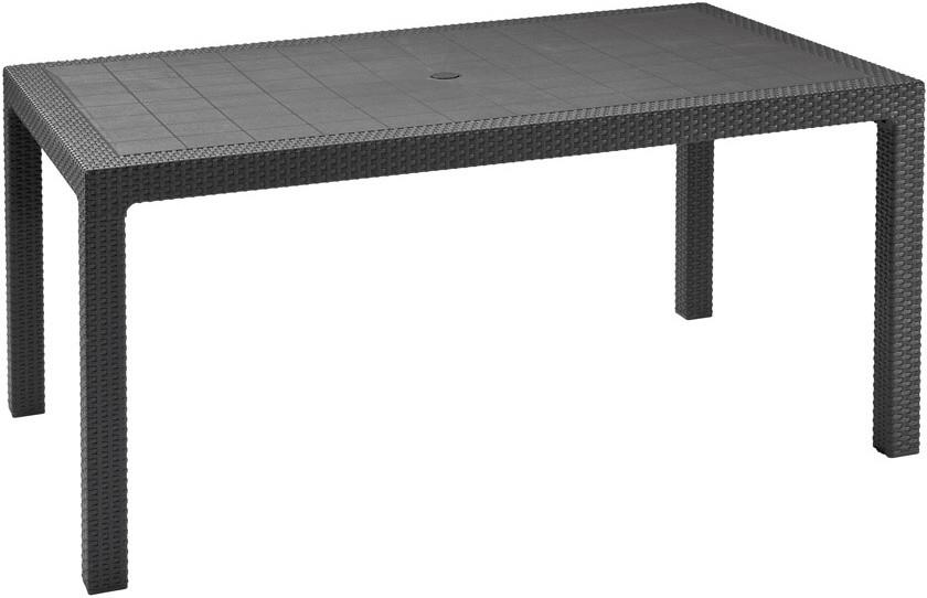 Záhradný stôl - Allibert - Melody (um. Rattan)