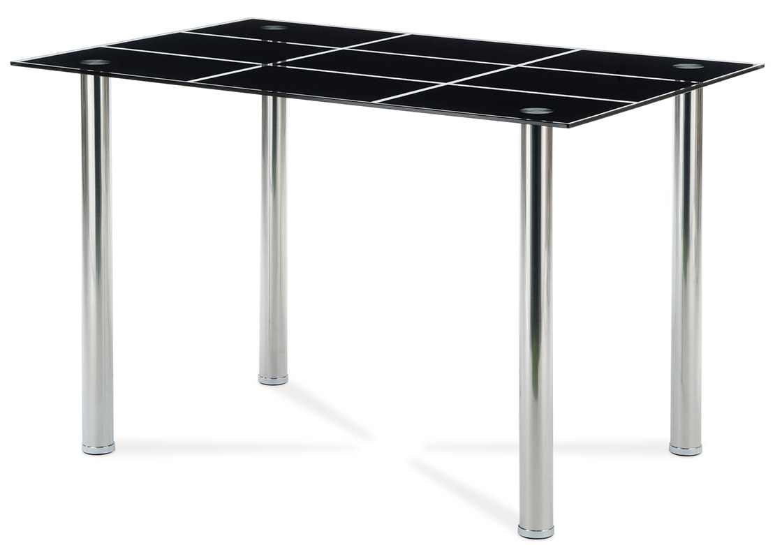 Jedálenský stôl - Artium - AT-1888 BK (pre 4 osoby)