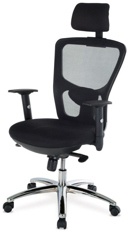 Kancelárska stolička - Artium - KA-N127 BK