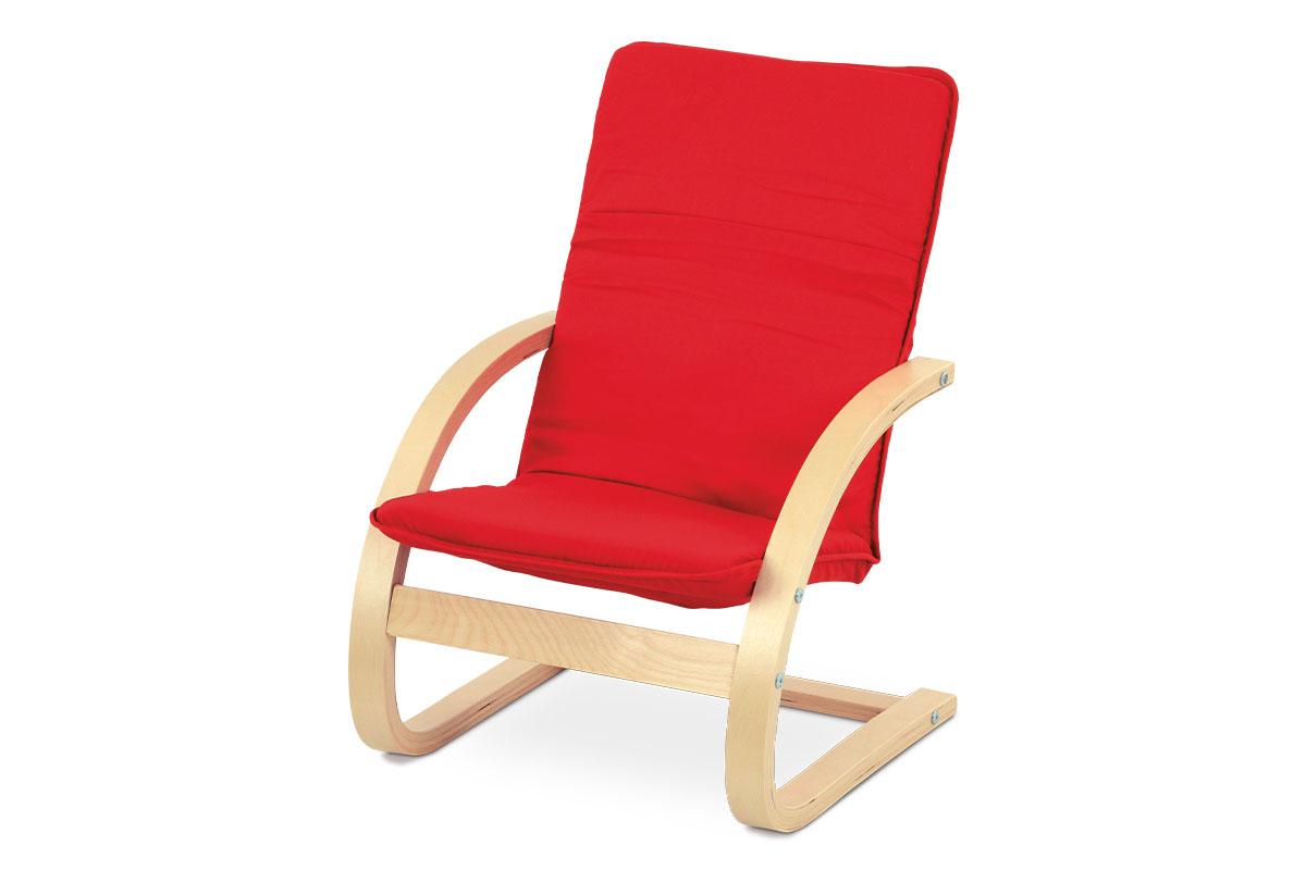 Relaxačné kreslo - Artium - QR-06 RED. Sme autorizovaný predajca Artium. Vlastná spoľahlivá doprava až k Vám domov.