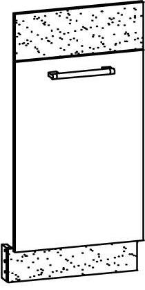 Dvierka na umývačku 45 cm - Bog Fran - Modena - MD 23