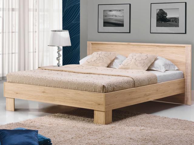 Manželská posteľ 160 cm - Bog Fran - Nicol - NC 24