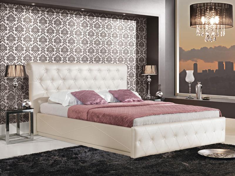 Manželská posteľ 180 cm - Bog Fran - Comodo (s dekoráciou)