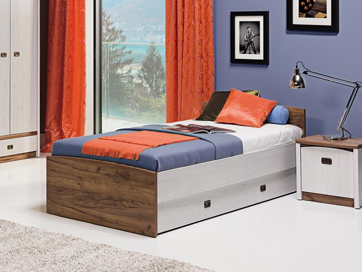 Jednolôžková posteľ 90 cm - Bog Fran - Ted - TD 11