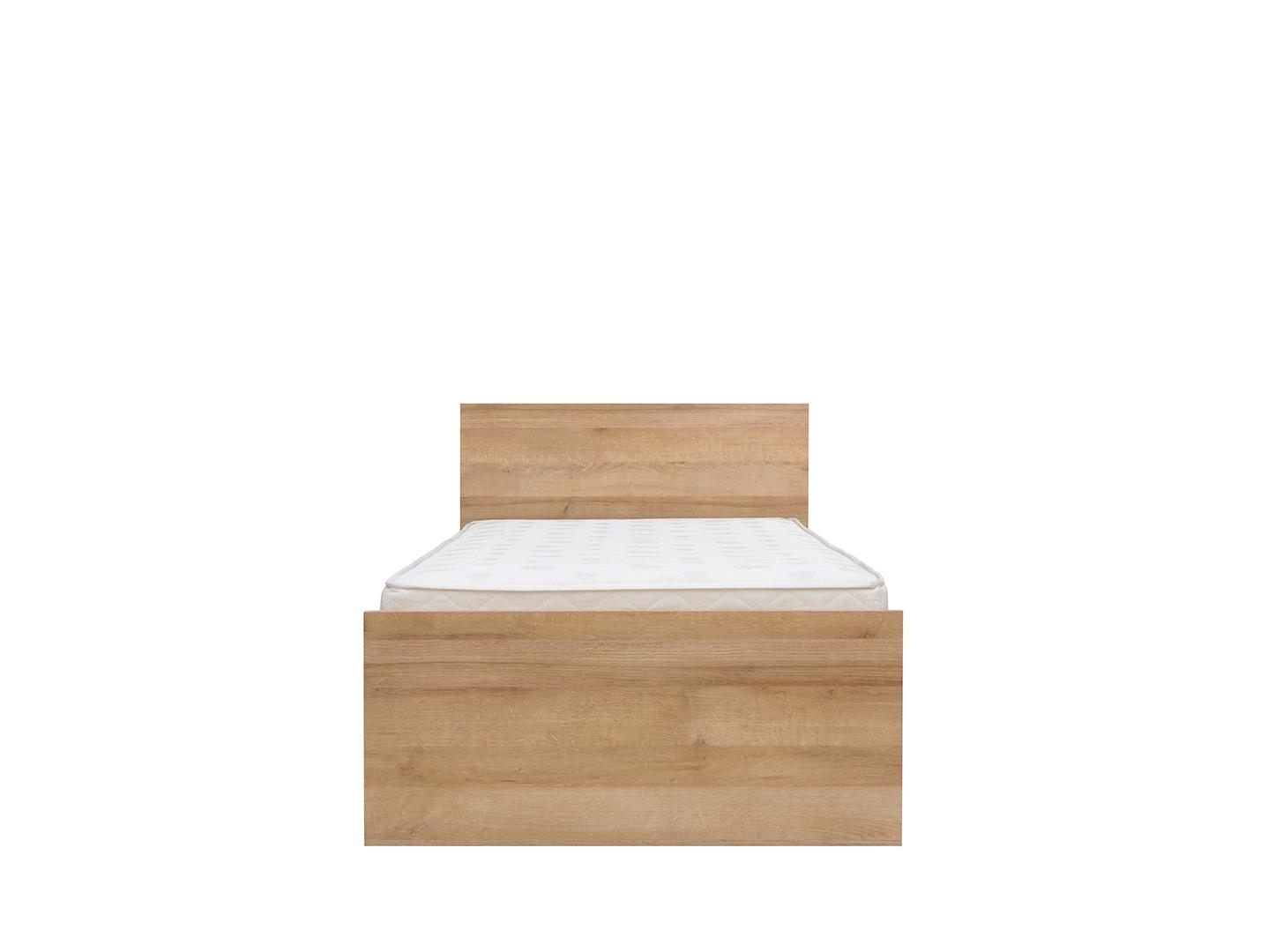 Jednolôžková posteľ 90 cm - BRW - Balder - LOZ/90. Akcia -21%. Sme autorizovaný predajca Black Red White. Vlastná spoľahlivá doprava až k Vám domov.