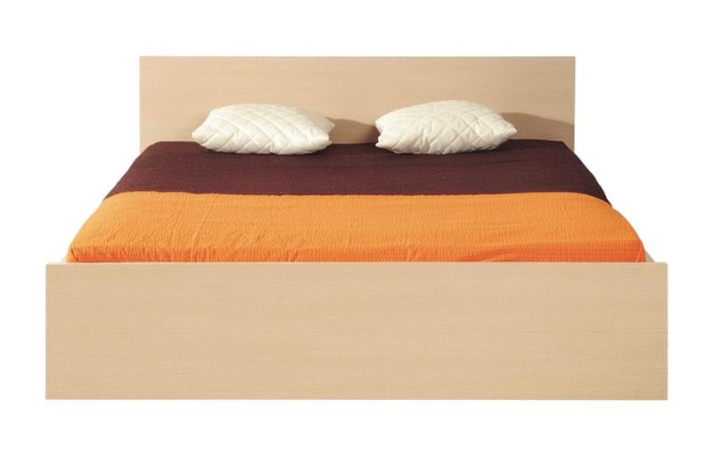 Manželská posteľ 160 cm - BRW - DOORS - HLOZ 160