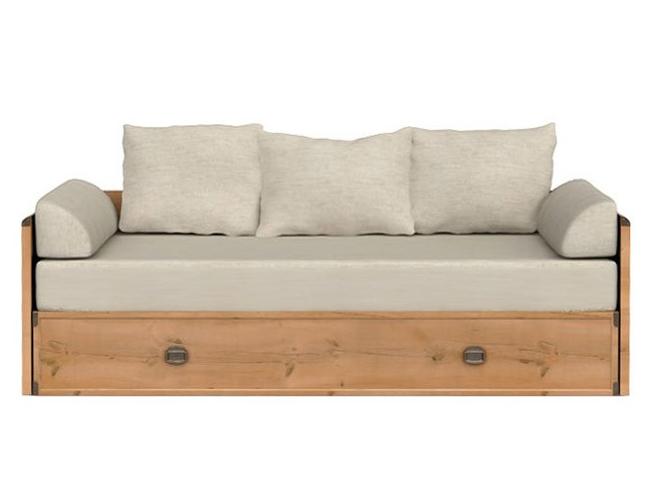 Rozkladacia posteľ 80 až 160 cm - BRW - INDIANA - JLOZ 80/160