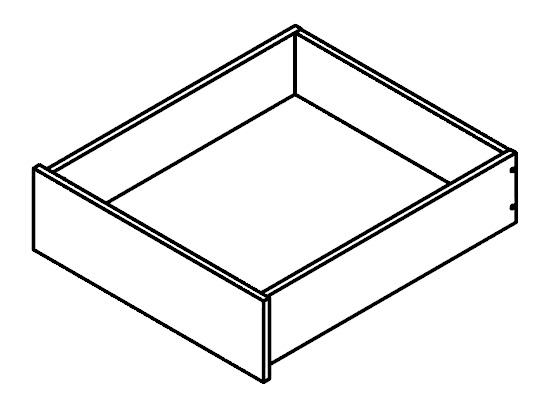 Zásuvka do šatníkovej skrine - BRW - Kamix - SZUF/50