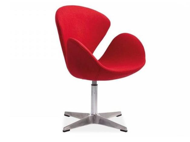 Relaxačné kreslo - BRW - Devon červená