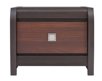 Nočný stolík - BRW - Loren - KOM1S. Sme autorizovaný predajca Black Red White. Vlastná spoľahlivá doprava až k Vám domov.