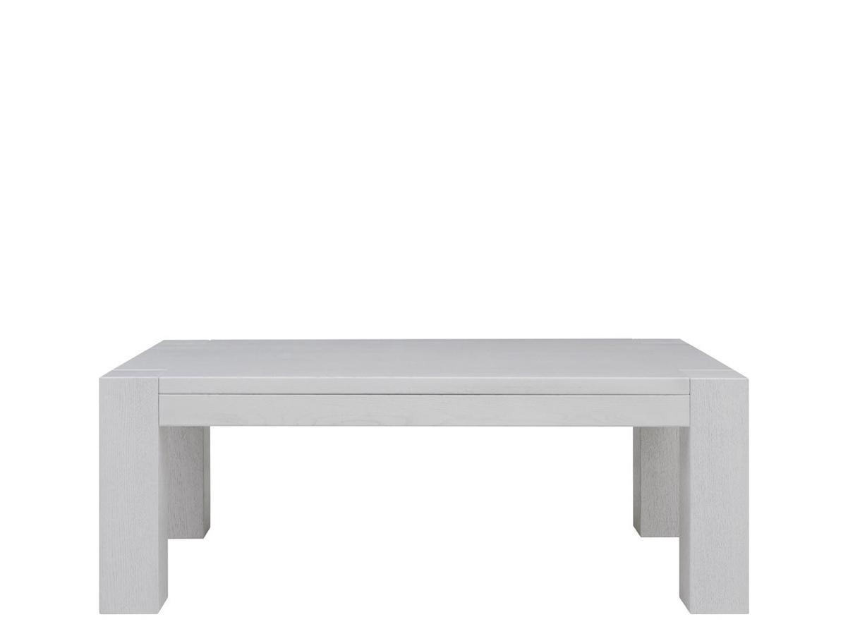 Konferenčný stolík - BRW - Luton 130/75 dub bielený