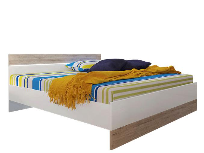 Manželská posteľ 160 cm - BRW - Mercur - LOZ/160