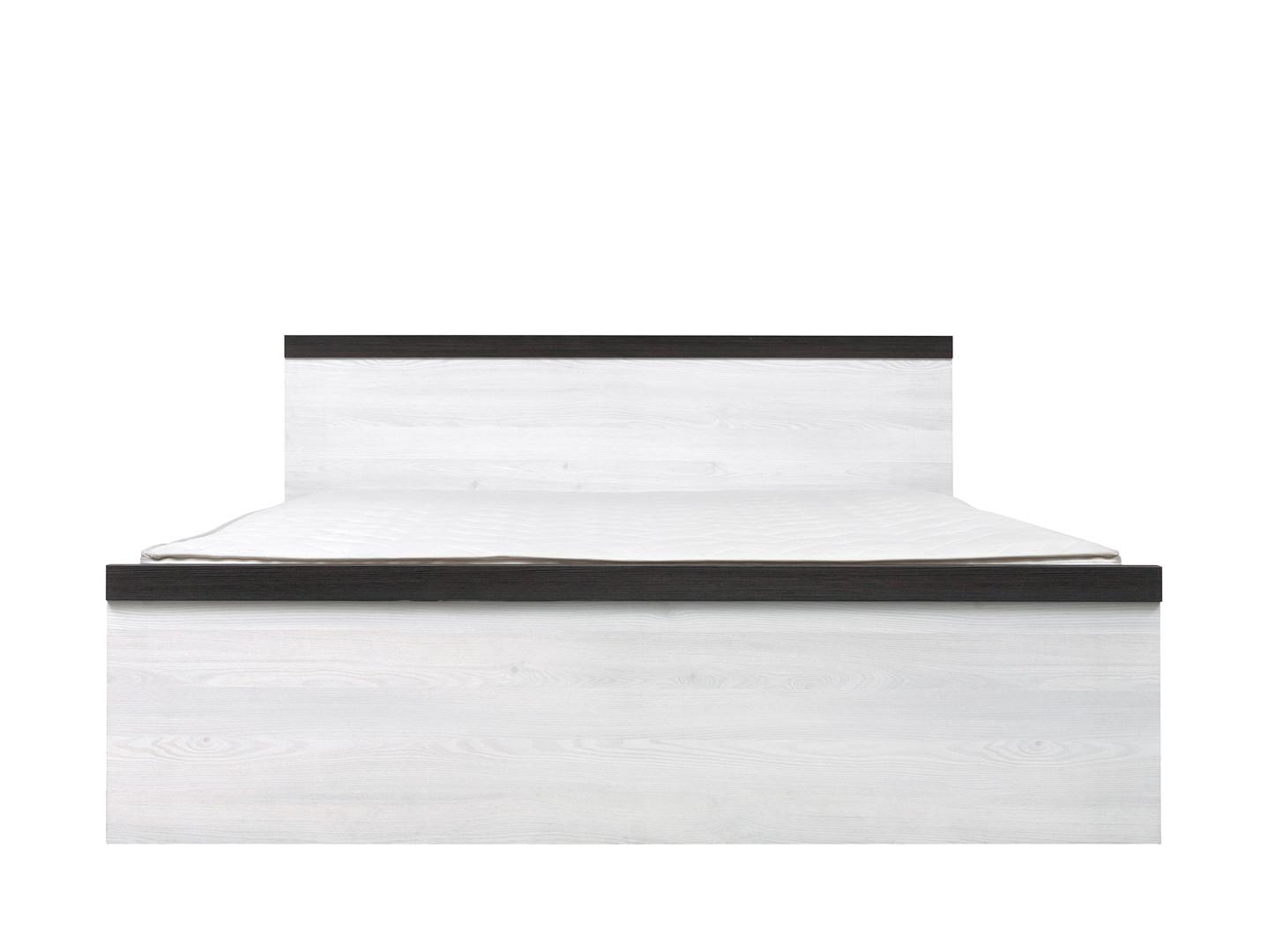 Manželská posteľ 160 cm - BRW - Porto - LOZ/160. Akcia -28%. Sme autorizovaný predajca Black Red White. Vlastná spoľahlivá doprava až k Vám domov.