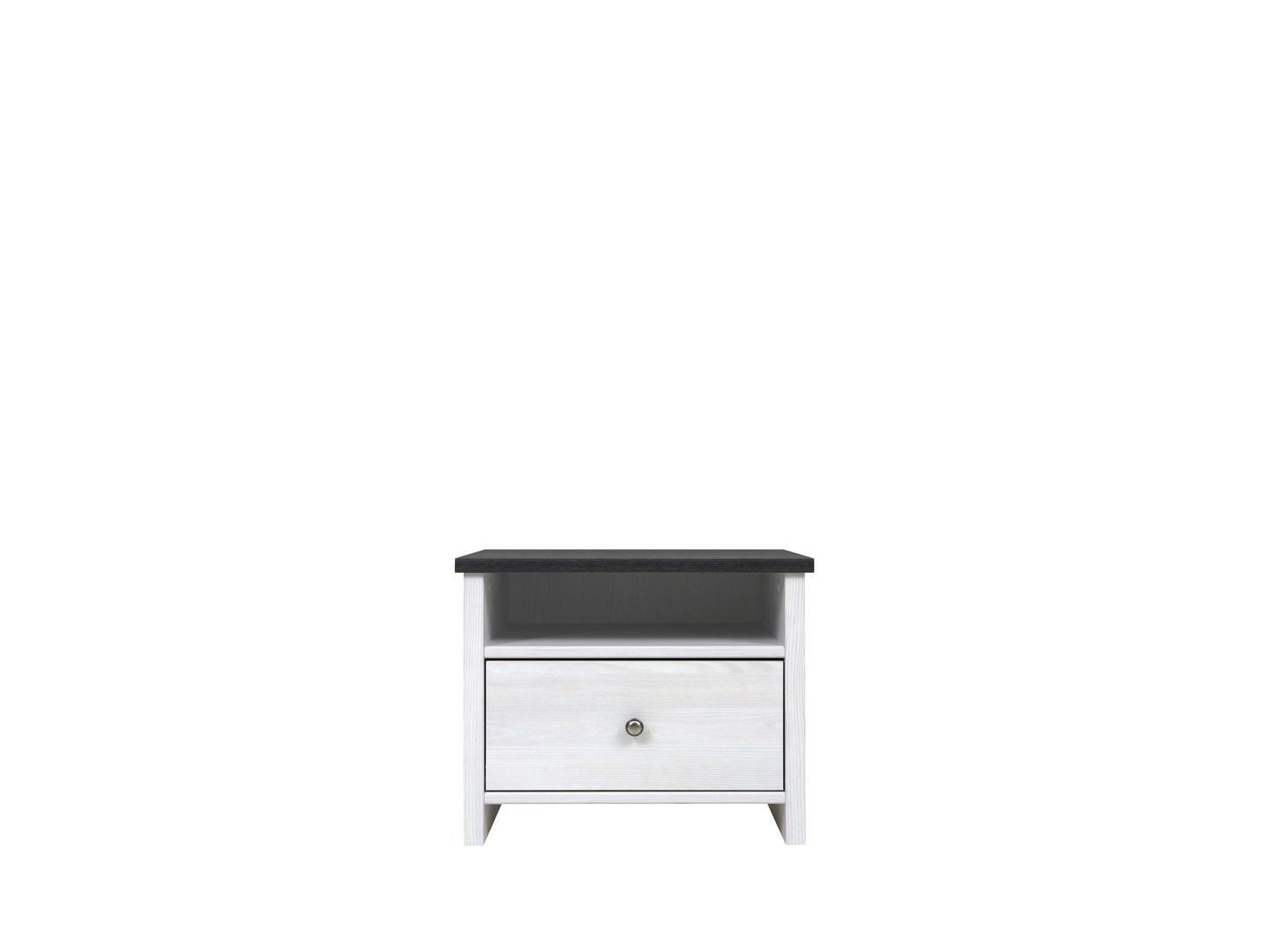 Nočný stolík - BRW - Porto - KOM1S/50. Sme autorizovaný predajca Black Red White. Vlastná spoľahlivá doprava až k Vám domov.